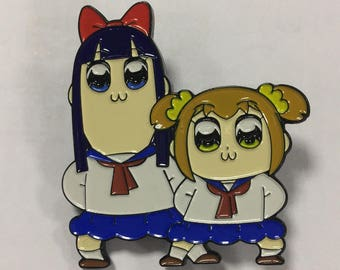 Pop Team Epic Pin