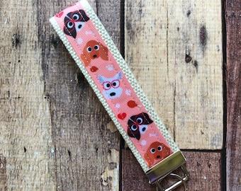 Geek Chic Dog Key Fob Keychain