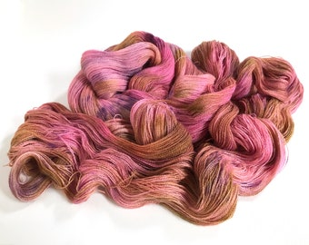 Crab Apple. Isadora Extrafine Alpaca Lace Yarn.