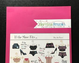 Bertina Studio If the Shoe Fits Embroidery CD