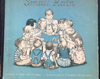 Vinatge Children Book , First Reader Book/ Illustrated by Elizabeth Orton Jones