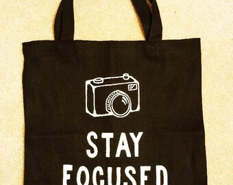Stay Focused Tote