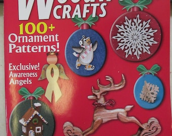 "Christmas issue ""Creative Woodworks Crafts"" issue  used magazine Holiday 2011"