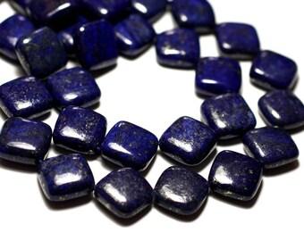 2PC - stone beads - Lapis Lazuli 16mm - 8741140014312 diamonds