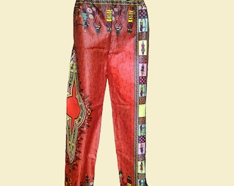 African pants one size