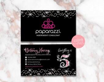 Printable Paparazzi Business Card Paparazzi Jewelry - Paparazzi business card templates