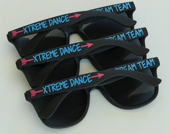 Personalized Sunglasses, Cheer Sunglasses, Team Sunglasses, Bachelorette Gifts, Dance Sunglasses, Bachelorette Party Favors