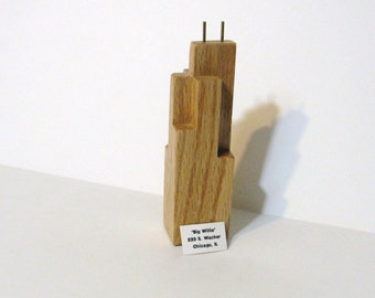 Chicago's Sears, Willis tower Made of Oak Wood