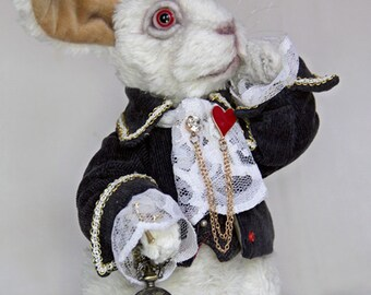 SOLD White Rabbit! teddy bear