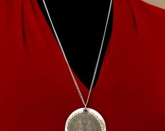Saint Benedict Long Necklace