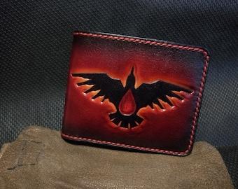 Blood Ravens Warhammer 40k  leather wallet
