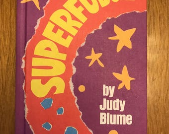 Superfudge by Judy Blume // hardcover // 1980 // Weekly Reader Books