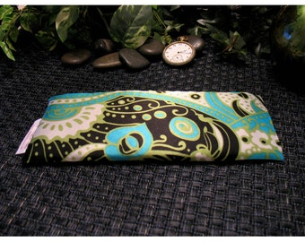 Eye Pillow. Soothe Puffy, Swollen Eyes. Insomnia Relief Pillow. Wedding Party Gifts. Organic. Flax Seed Eye Pillow. Natural.