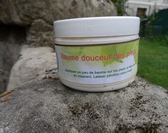 Softness of the foot balm