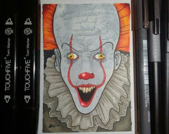 IT-Pennywise Sketch Card
