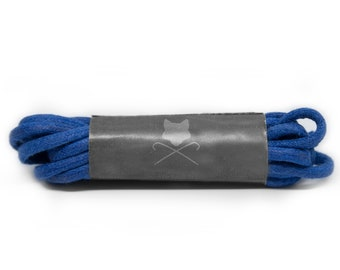 Royal Blue Men's Custom Shoelaces