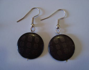 Grey 2 earrings