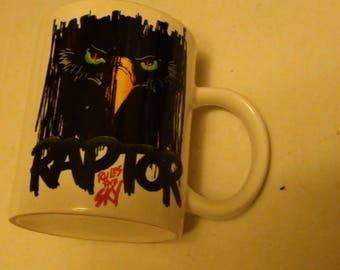 Cedar point Raptor mug