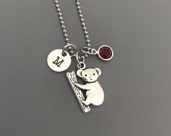 Koala Necklace-Koala Jewelry