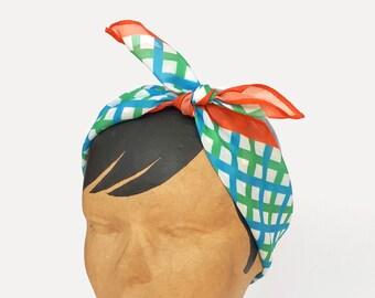Chiffon scarf for women, Neck scarf, Neckerchief, Square chiffon neck scarf for women, Lightweight scarf, Chiffon Kerchief, Summer scarf