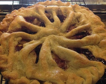 Fresh baked Cherry Berry Pie. Local customers only.