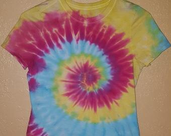 Girls Rainbow Tie-dye