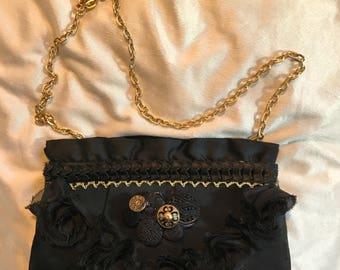 Roses and ruffles purse