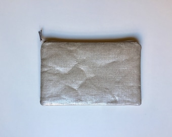 Clutch with detachable chain shoulder strap - model Angel