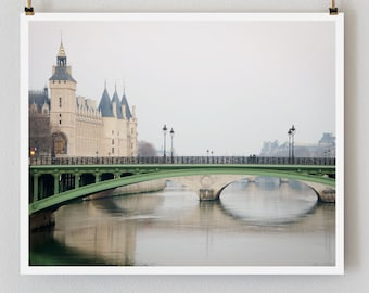 "Paris Photography, ""Conciergerie"" Paris Print Extra Large Wall Art Prints, Paris Wall Decor"