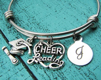 college graduation gift, for cheerleader, cheer gift, high school graduation gift for her, cheerleading gift, senior student, congrats team