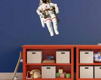 NASA Astronaut Wall Sticker - Spaceman Wall Sticker