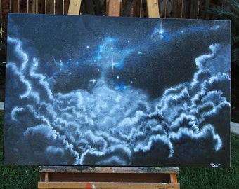 """36""""x24"""" Clouded Bliss 2015"""