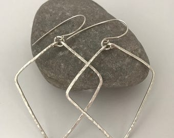 Lizzie Sterling Silver Earrings