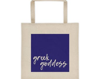 Greek Goddess Tote Bag -- Greek Tote Bag