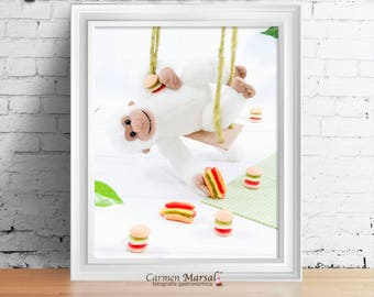 Digital child photography. Decoration wall room child and baby. Art for baby and child. Printing sheet. Baby photography
