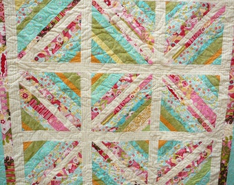 Small scrappy quilt