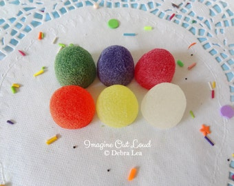 Fake Candy Rainbow LARGE Gumdrops Display Food Prop Decor