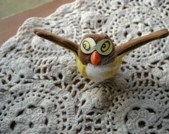Walt Disney owl vintage ornament