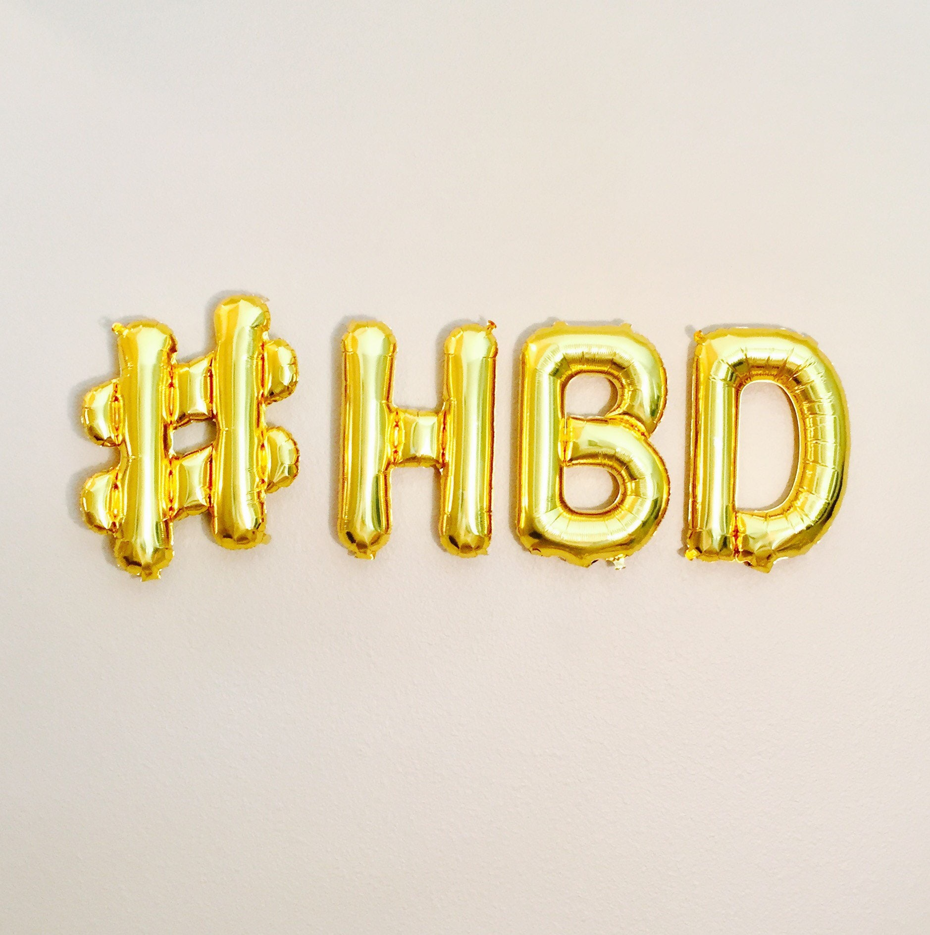 hbd balloon banner happy bday banner happy birthday happy. Black Bedroom Furniture Sets. Home Design Ideas