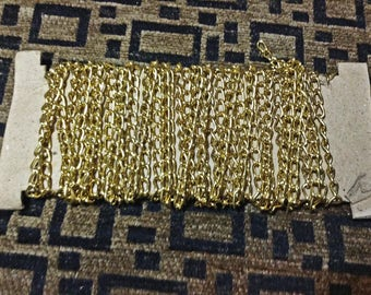Gold Chain - 7 1/2 yards - Handbag Strap