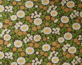 Seventies vintage wallpaper - 50 cm.