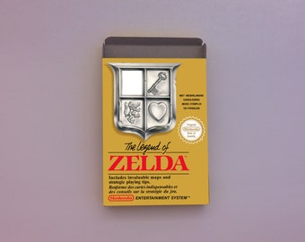 The Legend of Zelda box only - NES