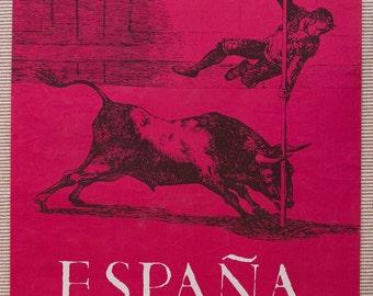 1970 Francisco de Goya España vintage poster
