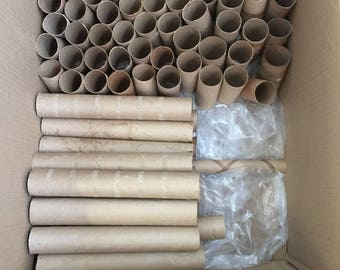 Toilet paper rolls//empty toilet paper rolls//cardboard rolls//craft supplies