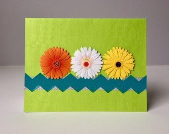Bright Flower Greeting Cards