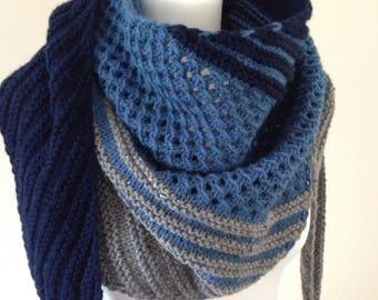 Scarf, shawl, wrap, wool shawl, knit scarf, texture scarf, scarf shawl, scarf knit, stole wrap, women scarf, women wrap, women shawl, stole