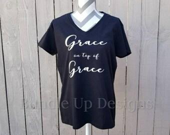 Grace and More Grace V Neck