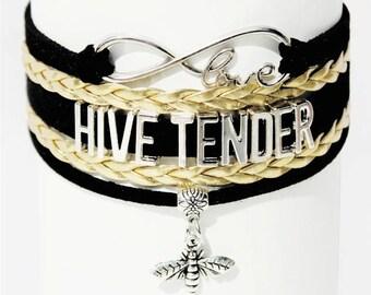 Beekeeper Bracelet | Beekeeper Jewelry | Beekeeper Gift | Honey Bee Bracelet | Honey Bee Jewelry | Save The Bees | Wildlife Jewelry | Bees