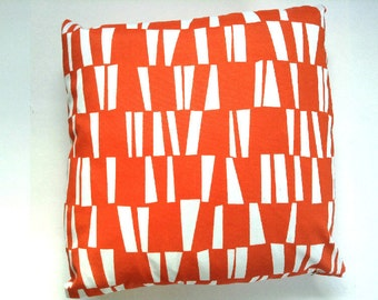 OUTDOOR Sticks Orange, Decorative Throw Pillow Cover -Choose Size - Premier Prints - Lumbar - Square One (1) Cover