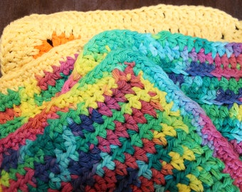 Set of 4 Crocheted Dish Cloths